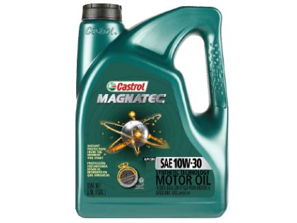 lubricantes    MAGNATEC 10W30 3.78LT SINTETICA G API SN;ILSAC GF-5 CASTROL