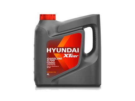 lubricantes    XTEER GASOLINE G700 10W40 SYNTHETIC 4L HYUNDAI