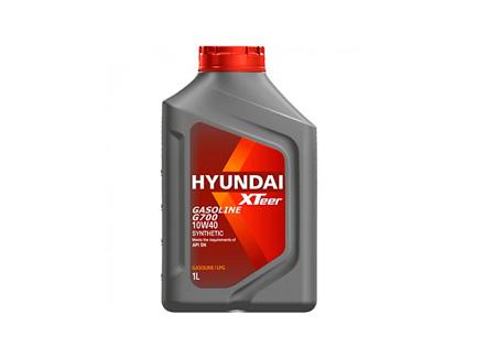 lubricantes    XTEER GASOLINE G700 10W40 SYNTHETIC 1L HYUNDAI