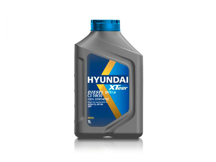 lubricantes    XTEER DIESEL ULTRA C3 5W30 DPF 100% SYNTHETIC 1L HYUNDAI